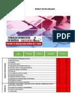 Edital Verticalizado Hemocentro Conhecimentos Básicos Todos