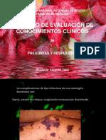 ENARM ejercicio de evaluación de conocimientos clínicos 36 de 247