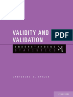 [Catherine S. Taylor] Validity and Validation(B-ok.org)