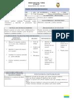 Modelo de Planificación Con Adaptaciones Curriculares