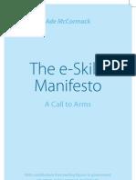 e Skills Manifesto