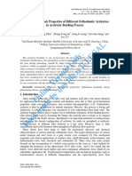 study on Mechanical properties and clinical applications of orthodontic wires