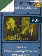 Chernev - a Matches 1921 e 1927 Chess Book)