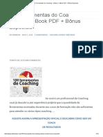 100 Ferramentas do Coaching – Vídeos + eBook PDF + Bônus Especiais
