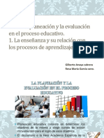 La Planeación y La Evaluación(Rosa Maria Gilberto Anaya)
