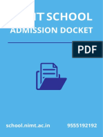 NIMT School Docket