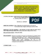 Modele Contrat Terrassement- Mengong
