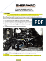 SHEPPARD Kenworth Medium Duty HD94 ALTERNATE Steering-Gear Bleed Procedure 2
