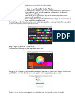 How to use Kuler for Color Palettes.doc