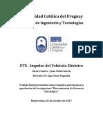 Trabajo Final-Herramientas de Gerencia Estratégica-Vehiculo Electrico-Álvaro Castro Juan Pablo Garcia 02-10-2017