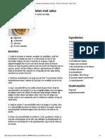 Krokante Avocadofrieten Met Salsa - Recept - Allerhande - Albert Heijn