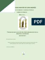 Bolivia Antecedentes Sistema p.
