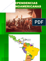 INDEPENDENCIAS HISPANOAMERICANAS.ppt