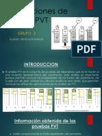 Aplicaciones de Análisis PVT