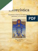 [ Fortea, j. a. ] --- Exorcística. Suplemento Tratado Summa Daemoniaca --Lp-ref-A