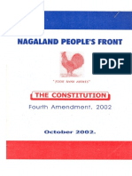 Constitution of Nagaland Peoples Front