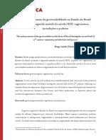 O Aprimoramento Da Governabilidade No Estado Do Brasil Durante a Segunda Metade Do Século XVII