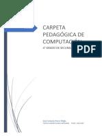 CARPETA P DE COMPUTO 4°