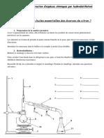 TP Hydrodistillation