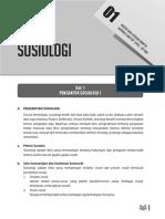 Rangkuman Materi Sosiologi SBMPTN