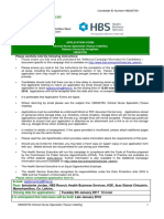 Hbs05700 Application Form