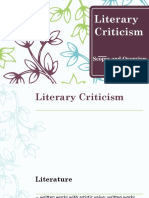 Introduction of Literary Criticism