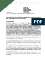 Diaz y Otros Presentacion de Los Estados Financieros