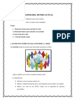 Cuaderno - Desafios Del Mundo Actual