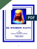 El Primer Rayo Maestro Ascendido El Morya
