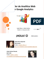 Taller Analitica web google analytics