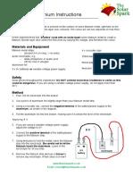 Anodising Titanium Instructions