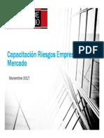 Capacitacion Riesgos Empresa y Mercado