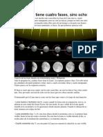 La Luna No Tiene Cuatro Fases