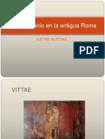 El Matrimonio en La Antigua Roma