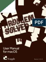 Scapple Manual Mac