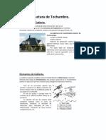 Estructura de Techumbre.