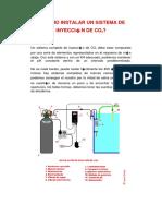 Sistema de Inyeccion de Co2