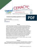 Resolução de Problemas Geometricos Usando o GeoGebra_Jose Carlos Pinto Leivas