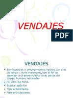TIPOS DE VENDAJES