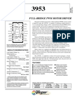 Datasheet - 3953 - Full-Bridge PWM Motor Driver