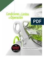 Capitulo 3 Condiciones y Limites de Operacion