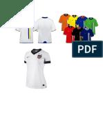 Modelo de Camisetas