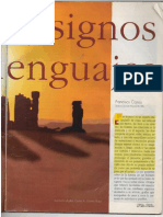 Cajiao Francisco. Cosas, Signos y Lenguajes