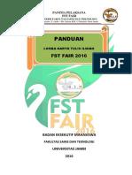 Panduan Lktin Fst Fair 2016