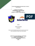 Laporan Praktek Kerja Profesi Apoteker (Kf Daya Astri)-1