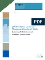 2009 Global CEM Benchmark Study