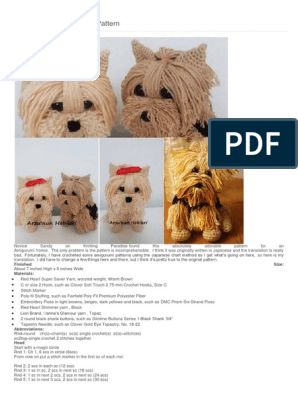 Beautiful Skills - Crochet Knitting Quilting : Glamorous Monkey ... | 396x298