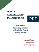 Guia de Conservacion y Mantenimeinto