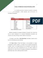 Manual de Proyecto de Investigación