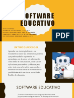 Software Educativo - Diapositivas